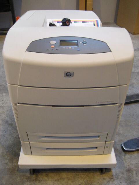 HP Colour LaserJet 5500dtn 5500 A3 A4 Colour Laser Printer No Toners + Warranty