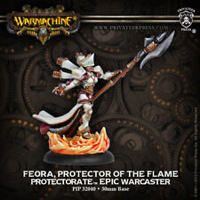 Warmachine: Protectorate of Menoth Feora Protector of the Flame PIP 32040 New