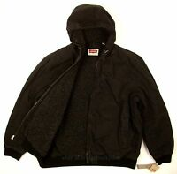 Levis Bomber Jacket Xx-large Color Black Heavy Duty Canvas / Sherpa Lined on sale