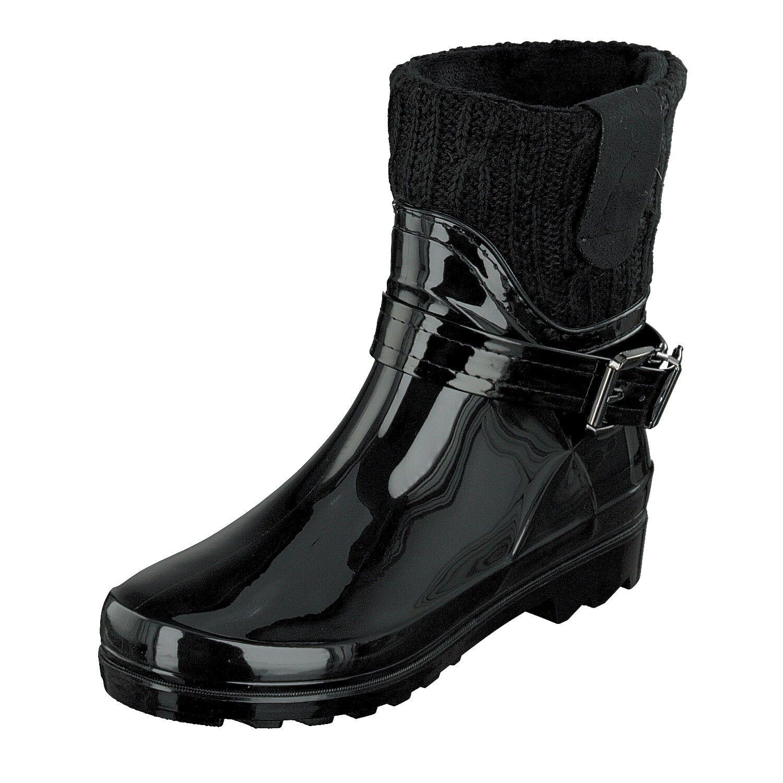 Gosch schuhe Sylt - Damen Schuhe Schuhe Schuhe Gummistiefel Stiefel gefüttert 7102-505-9 Schwarz   8de9e5