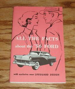 FORD 1956 Sales Brochure 56