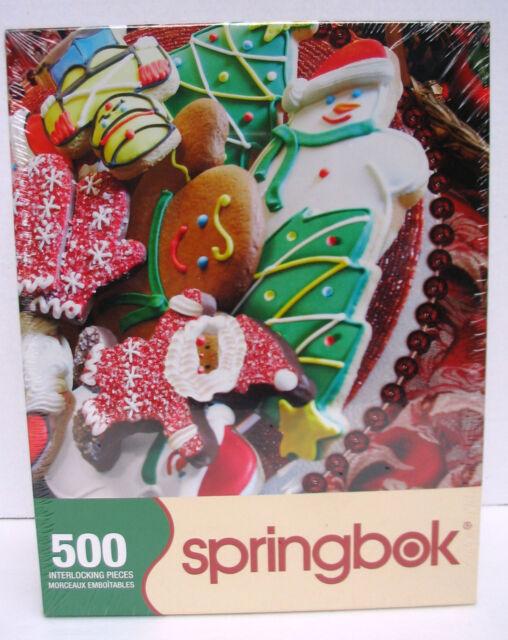 Springbok Jigsaw Puzzle Christmas Cookies 500 Pcs Present