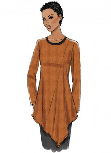 Butterick Ladies Easy Sewing Pattern 6377 Jersey Knit Asymm... Free UK P/&P