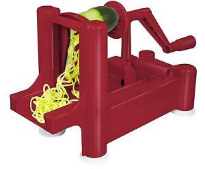 Big Boss Slice-A-Roo Ultimate Tri-Blade Vegetable and Fruit Peeler Spiralizer!