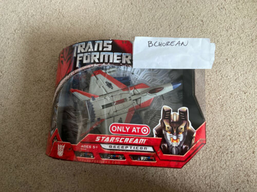 Transformers 2007 Movie Voyager Class G1 DECO Starscream TARGET EXCLUSIVE NEW
