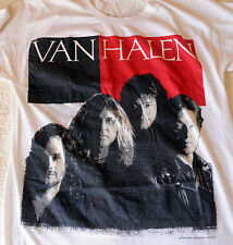 Vintage 1988 VAN HALEN OU812 Monsters of Rock Shirt RARE WHITE