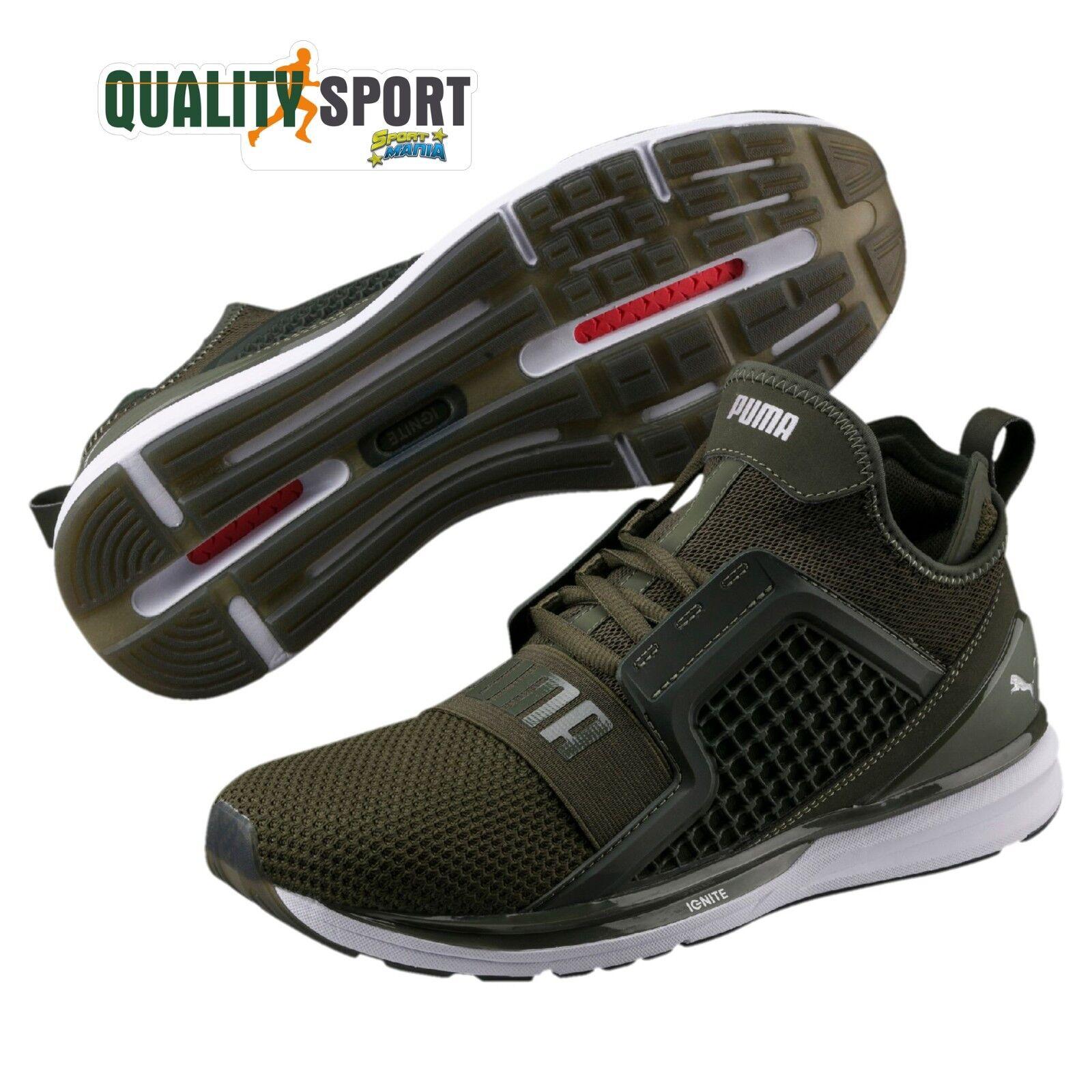 Puma Ignite  Limitless Weave Verdone Zapatos  Ignite hombre Deporteive 190503 01 2018 b12912