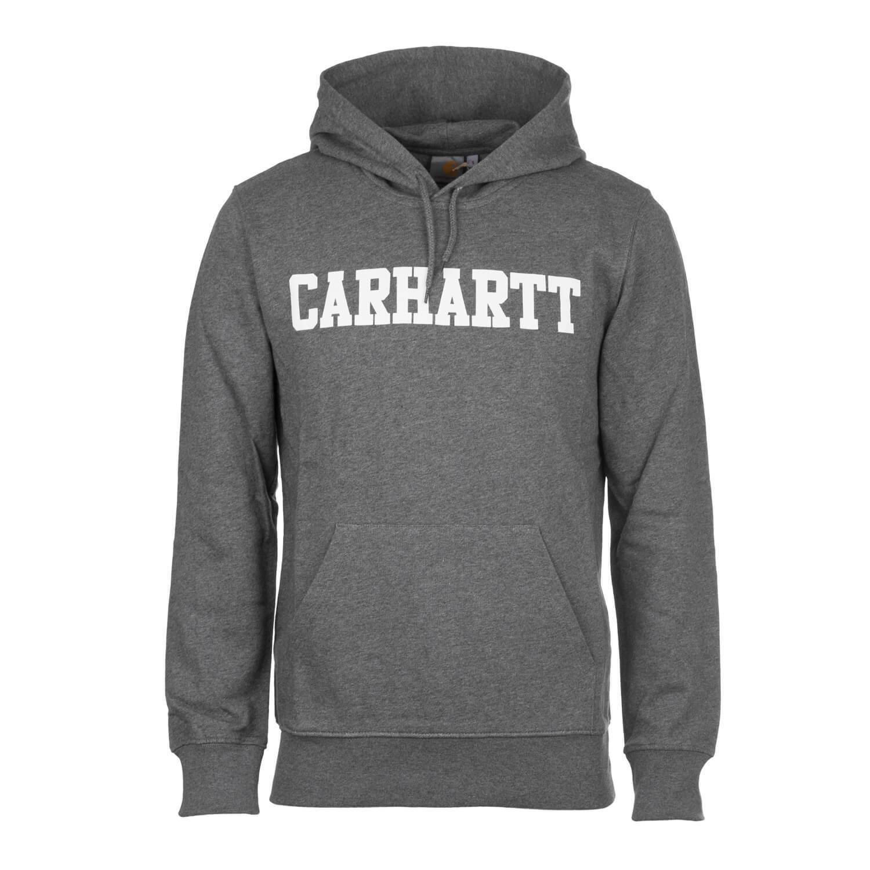 Carhartt WIP Hooded College Sweat dark grau - Herren College Hoodie    | Clever und praktisch