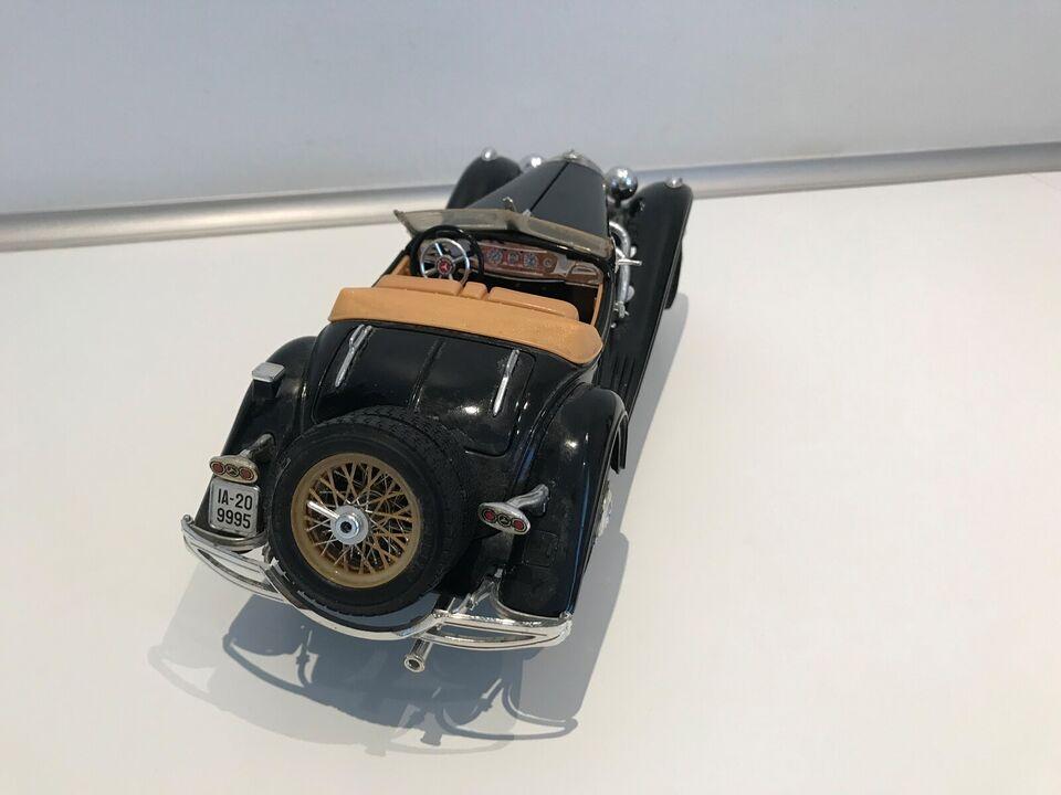 Modelbil, Mercedes Benz Roadster 1936, skala 1:20