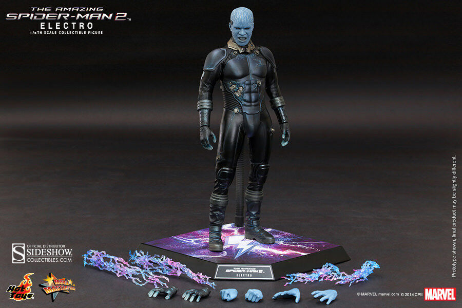 The Amazing Spider-Man 2 2 2 12 Inch Figure asterpiece 1/6 Scale - Electro Hot Toys 190146
