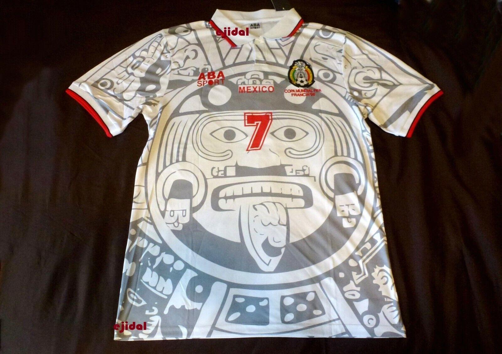detailed look 65874 75f5c MExicO RAMON RAMIREZ #7 1998 NEW Jersey XL RETRO France ABA SPORT Chivas