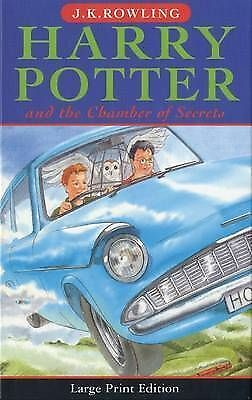 Harry Potter and the Chamber of Secrets by J. K. Rowling (Hardback, 2002)