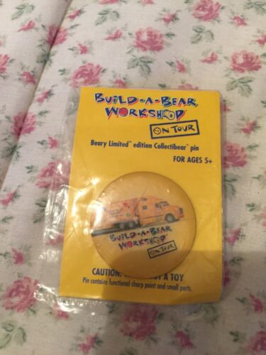 Build A Bear Pin. Beary Limited Edition On Tour Pin In Package!!