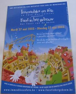 Advertising Immeubles en Fete 2003  unposted - Newent, United Kingdom - If you are not satisfied with your item, within 7 days of receipt I will refund the purchase price, and postage of the item to you, upon receipt of the item. Most purchases from business sellers are protected by the Consumer Contr - Newent, United Kingdom