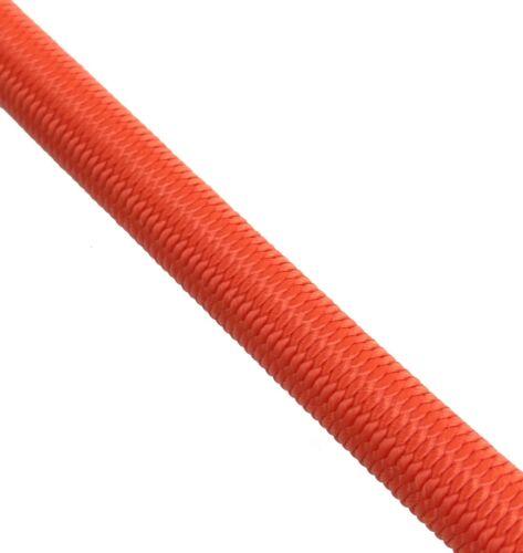 Bungee Rope Tie Down Extra Strong 12mm Orange Elastic Bungee Shock Cord