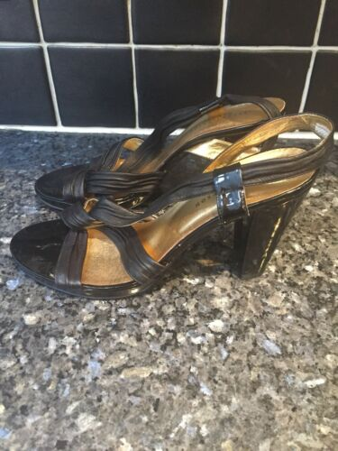 Size Betty Studio 39 Shoes Black Strappy Jackson xq8rwqaX