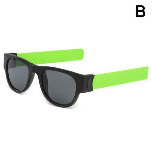 2019 New Circle Round Sunglasses Polarized For Men and Women Outdoor Fold