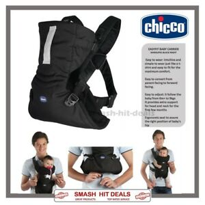 Details About New Chicco Marsupio Easyfit Adjustable Dual Facing Baby Carrier Black Night 0m