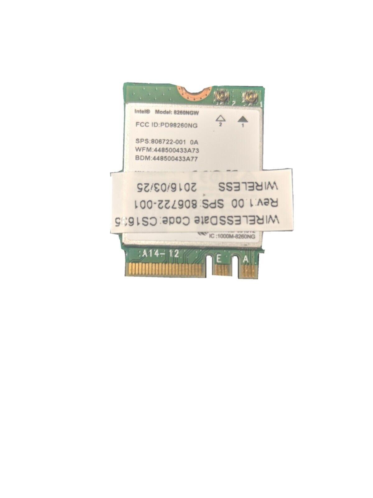Intel WiFi Wireless Network Card 802.11 Bluetooth ngff
