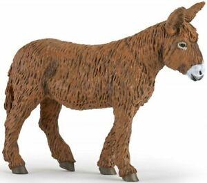 Papo-51168-Poitou-Donkey-Figurine-Model-Toy-Farm-Animal-NIP
