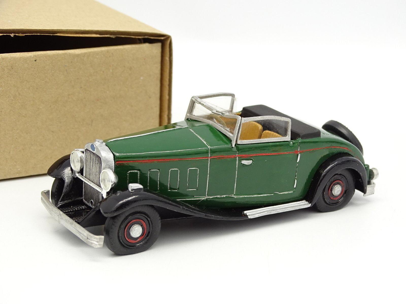 John Day kit monte rouppe 65533; 65533; 1  43 - Delage D8 1929 Cabriolet gröne