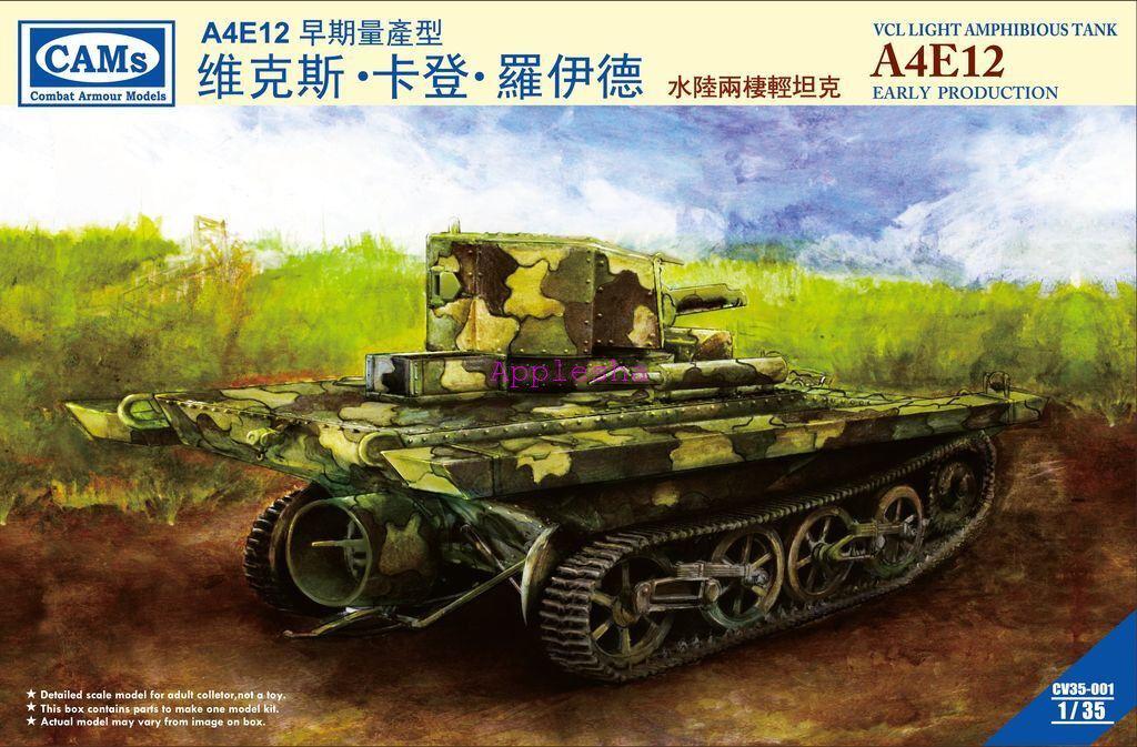 Riich CV35001 1 35 VCL Light Amphibious Tank A4E12 Early Production