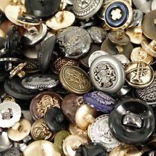 Mixed Military Decorated Buttons Assorted Card Making  Arts & Craft  Sewing x 25