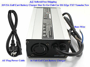 AU-36V-5A-Golf-Cart-Battery-Charger-Star-Ez-Go-Club-Car-DS-EZgo-TXT-Yamaha-New