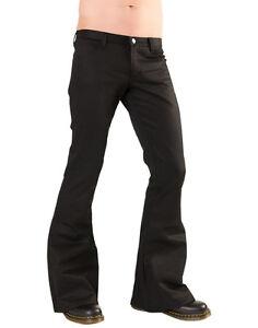 Pistol Black Goth Steampunk Hipster Loons Punk Emo Sale Alt Cyber Denim Trousers qHd5Yx