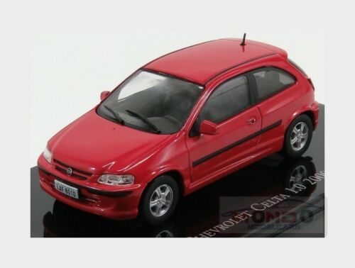 Chevrolet Celta 1.0 2000 Red EDICOLA 1:43 EDICHEV034