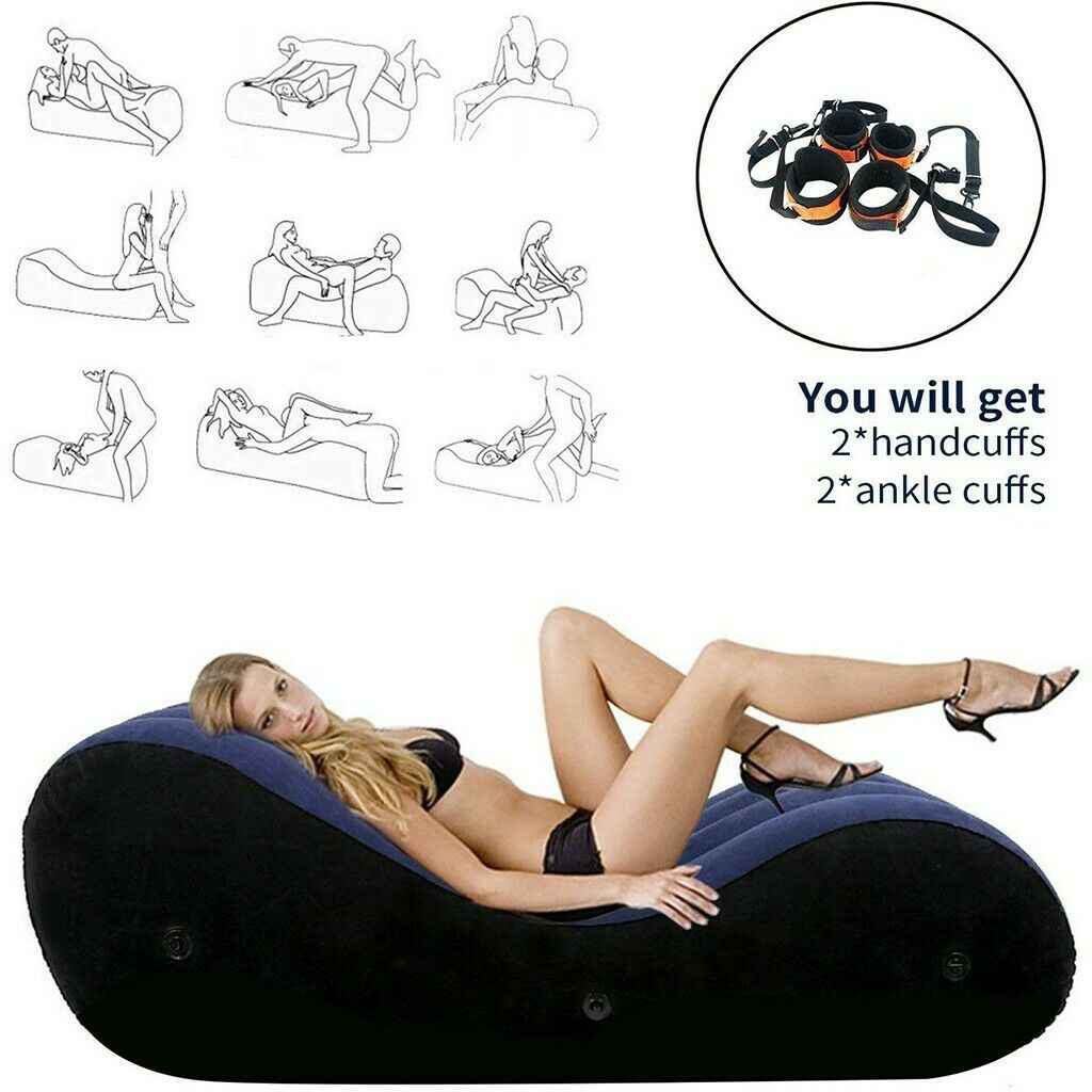 Toughage Amazing Multi Function Sex Position Pillow Inflatable Portable Kit Set