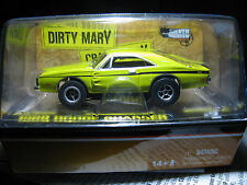 AW AFX AURORA 1969 DODGE CHARGER DIRTY MARY CRAZY LARRY NEW HO SLOT CAR IN CUBE
