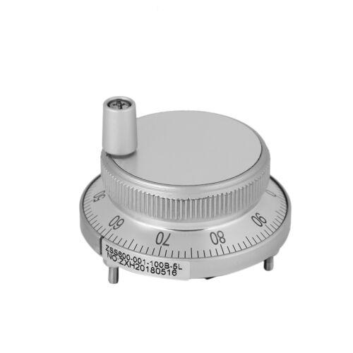 5V 6 Terminal Hand Wheel Pulse Encoder Generator CNC Mill Router Manual Control
