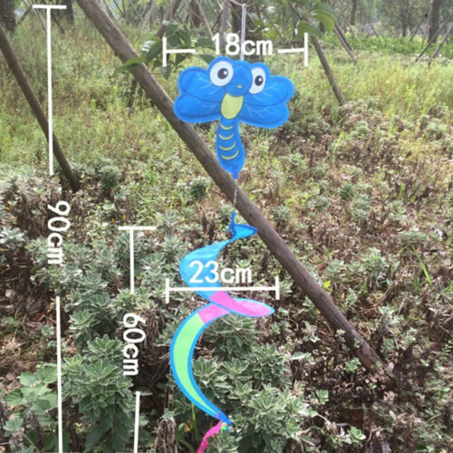 1x Animal Spiral Windmill Colorful Wind Spinner Lawn Garden Yard Outdoor DecorFO