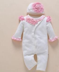 22 Reborn Baby Doll Newborn Clothes Hat White Girl Christmas Birthday Dress Ebay