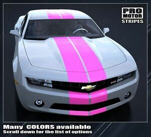 Chevrolet Camaro PACE RALLY Racing Stripes Decals 2014 2015 Pro Motor