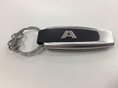 Mercedes-Benz Schlüsselanhänger Typo A-Klasse - Edelstahl-silber-schwarz - NEU