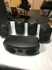 Polk Audio 5 Speaker Surround Set RM1300 Center Front Rear Left Right Rm1600s