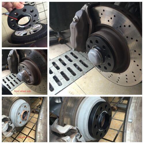 Bolts Aluminum 5*112 Wheel Spacers for Mercedes Benz A R SL S AMG 4PCS 20mm