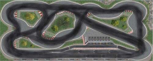 Racetrack Rennstrecke Driftstrecke Extras für Dr!ft oder Siku 250cm x 100cm  hs