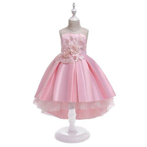 Dresses Dress Kid Party Wedding Tutu Princess Bridesmaid Baby Flower Girl Formal