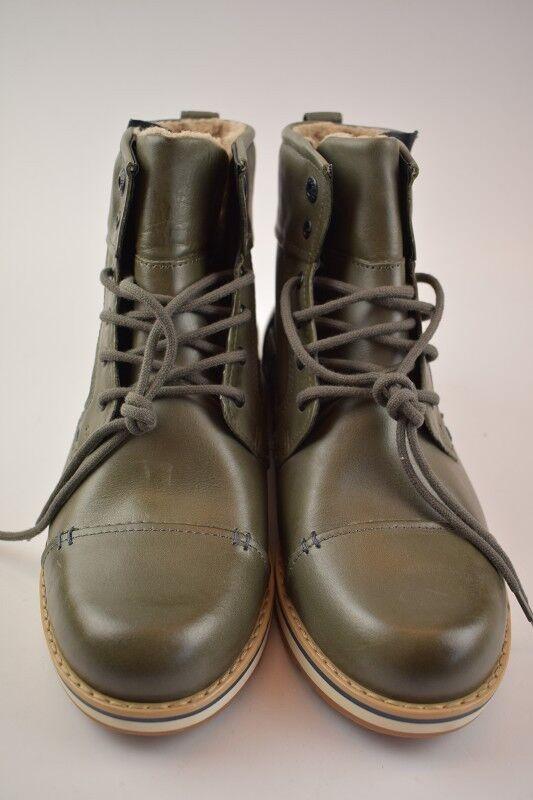 Fretz Men Herren Boots Rancho/Yucatan Mineral Leder Gore-Tex
