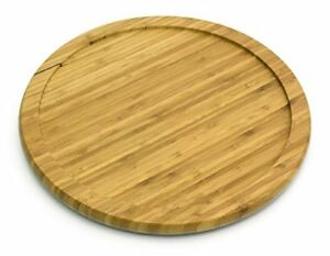 Image Is Loading Lazy Susan 14 Inch Bamboo Turntable Kitchen Table