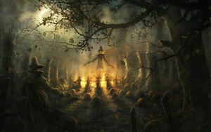 image is loading framed print pagan halloween ritual picture paganism fantasy