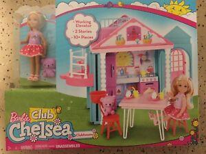 Barbie Club Chelsea Playhouse Playset