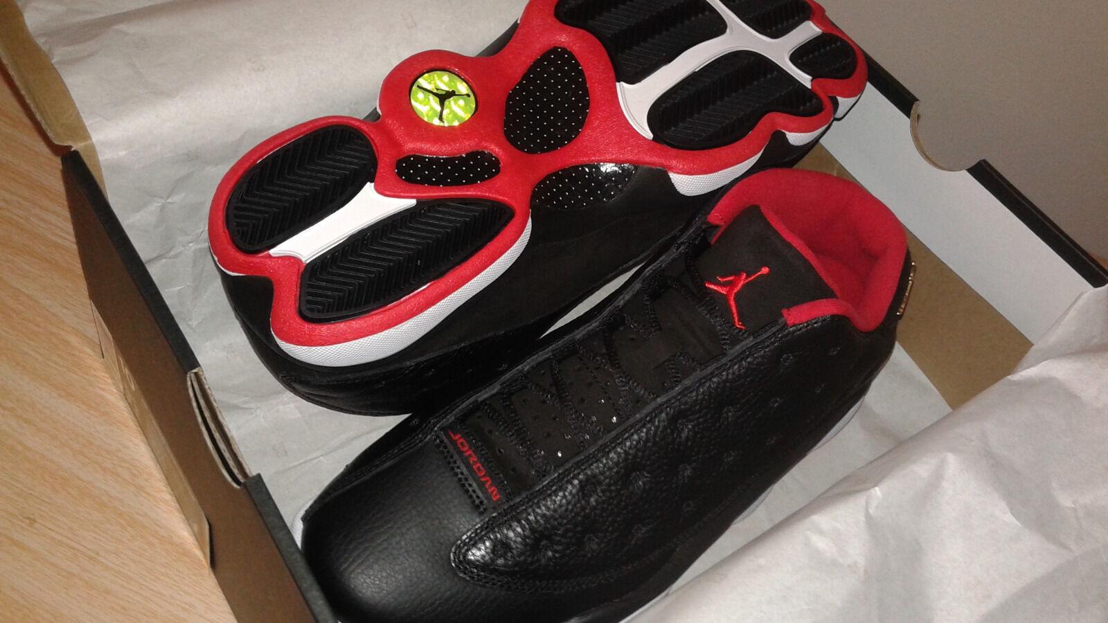 Jordan 13 retro low Bred Mens Size 10 US