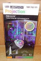 Gemmy Led Halloween Fire & Ice Orange/purple/green Projection Light Show