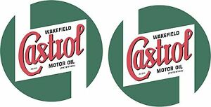 2x-CASTROL-WAKEFIELD-3-Inch-Classic-Stickers-Tt-Mk1-Gp