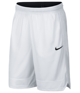 Mens-Nike-Shorts-Medium-or-Large-White-Black-Authentic-Dri-Fit-Icon-Basketball