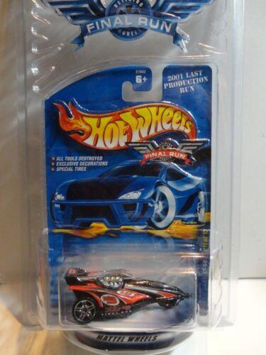 Hot Wheels Final Run Black XT3 w//PR5 Spoke Wheels